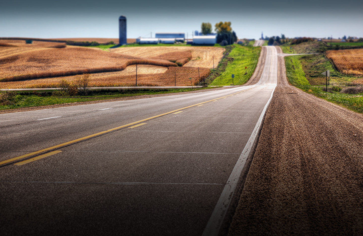 Iowa transportation background image